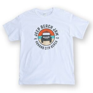 Color Logo Tee White - Mens/Womens